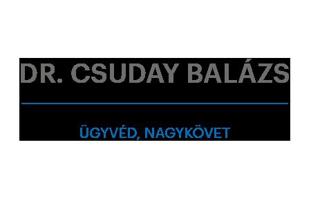 Dr. Csuday Balázs